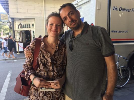 Julie, English teacher in France